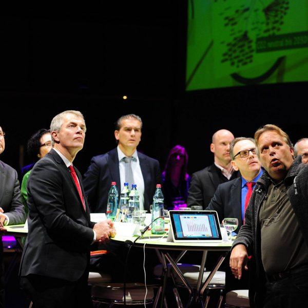 Jörg Heynkes mit NRW Umweltminister Johannes Remmel a.D. und OB Andreas Mucke