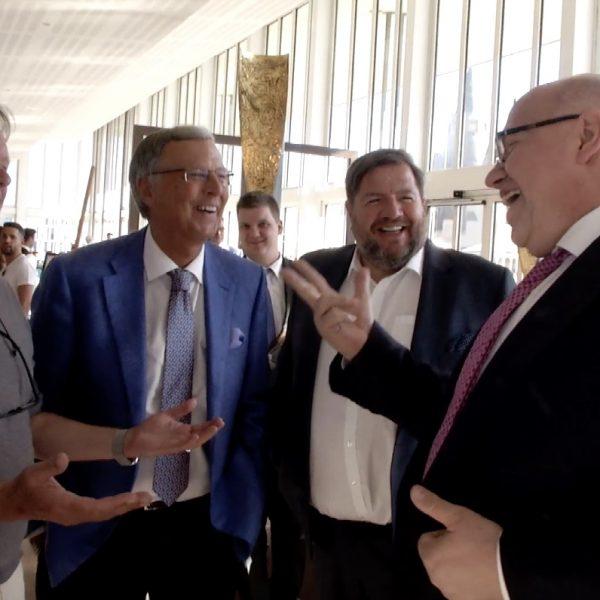 Peter Altmaier, Wolgang Bosbach, Bernd Reisig und Jörg Heynkes