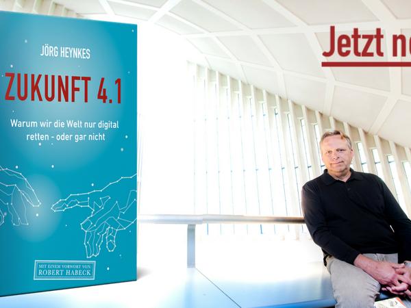 Jörg Heynkes, Buch, Zukunft, Klimaschutz, überleben, Menschheit